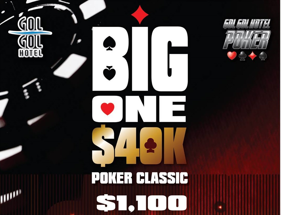 The Gol Gol Hotel is proud to announce 'The Big One 40k Poker Classic'