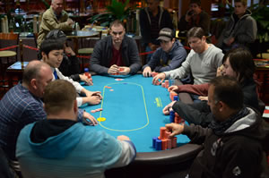 Winter Poker Championships final table